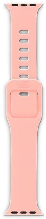 EPICO silikonový řemínek pro Apple Watch 42/44mm, růžová