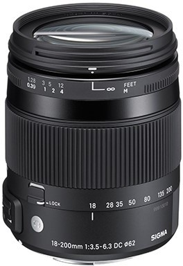 SIGMA 18-200/3.5-6.3 DC MACRO OS HSM pro Canon