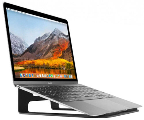 TwelveSouth ParcSlope stojan pro MacBook Pro, MacBook Air a iPad Pro - black