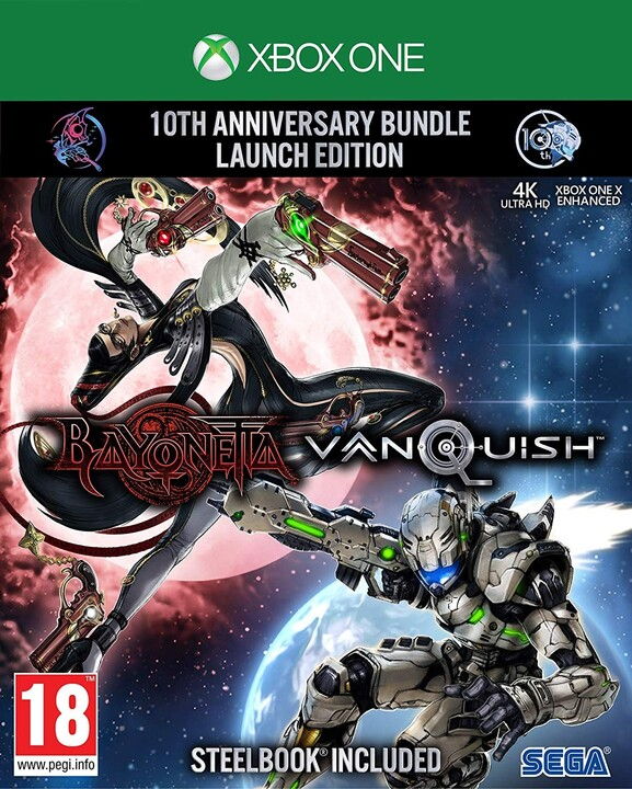 Bayonetta & Vanquish - 10th Anniversary Bundle Launch Edition (Xbox ONE)