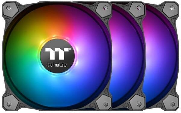 Thermaltake Pure 14 TT Premium Edition, ARGB Sync, 140mm (3 ks v balení, řízené LEDky, s řadičem)