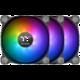 Thermaltake Pure 14 TT Premium Edition, ARGB Sync, 140mm (3 ks v balení, řízené LEDky, s řadičem) O2 TV Sport Pack na 3 měsíce (max. 1x na objednávku)