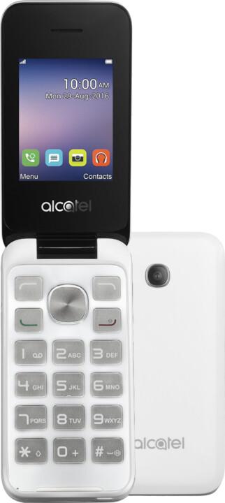 ALCATEL 2051D, bílá
