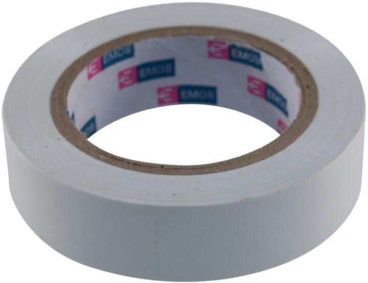 MaxLink Izolační páska PVC 15 mm / 10m šedá