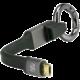 Scosche 2v1 karabina s nabíjecím a datovým kabelem USB - microUSB