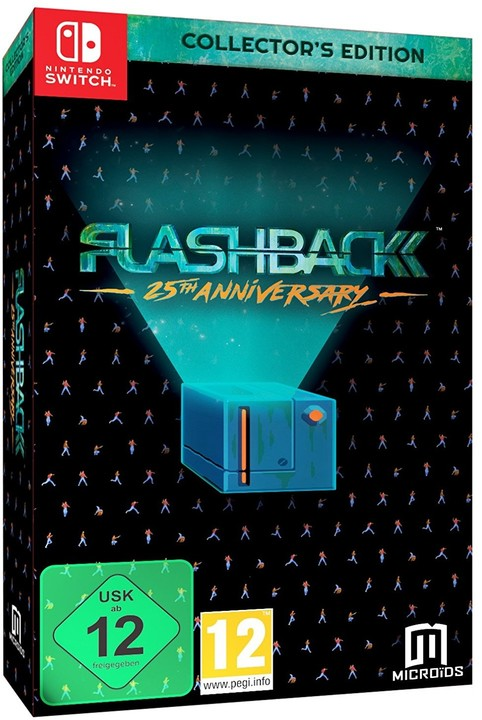Flashback: 25th Anniversary - Collector's Edition (SWITCH)