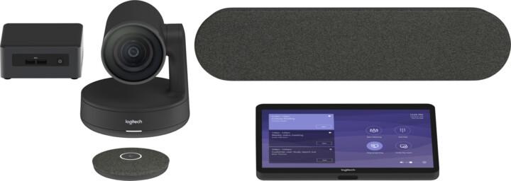 Logitech Tap for Microsoft Teams Rooms Medium s Intel NUC (i7), JumpStart 90dní