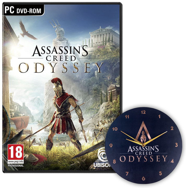 Assassin's Creed: Odyssey (PC) + Hodiny