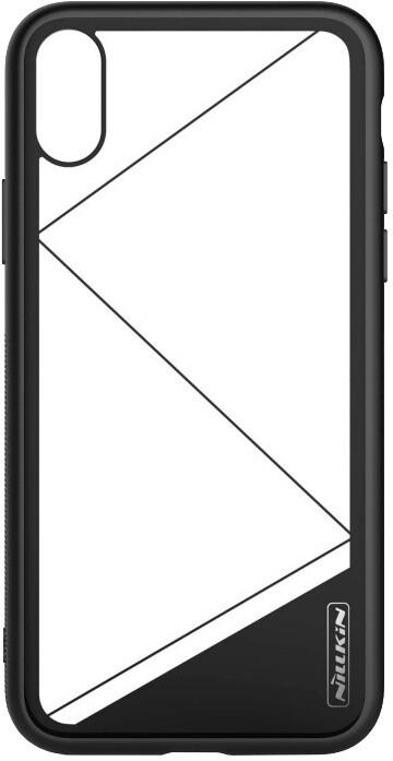 Nillkin Tempered Hard zadní kryt pro iPhone X, Black