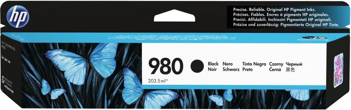 HP D8J10A náplň č.980, černá