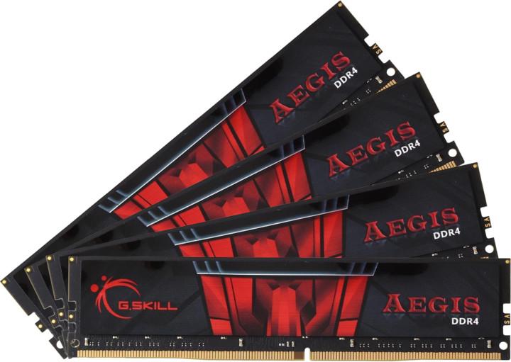G.SKill Aegis 32GB (4x8GB) DDR4 2400