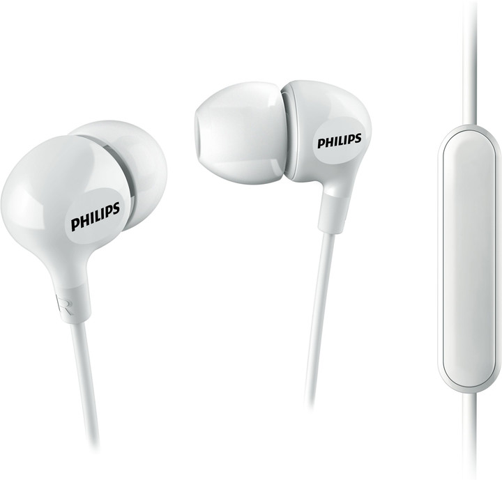 Philips SHE3555, bílá