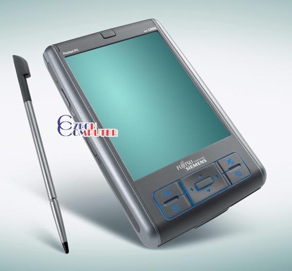 Fujitsu Siemens Pocket LOOX N560 + držák do auta + nabíječ