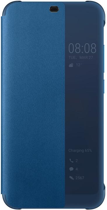 HONOR flipové pouzdro pro Honor 10, tmavě modrá