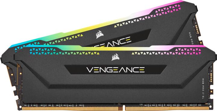 Corsair Vengeance RGB PRO SL 32GB (2x16GB) DDR4 3600 CL18, černá