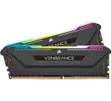 Corsair Vengeance RGB PRO SL 32GB (2x16GB) DDR4 3200 CL16, černá CL 16 - CMH32GX4M2Z3200C16