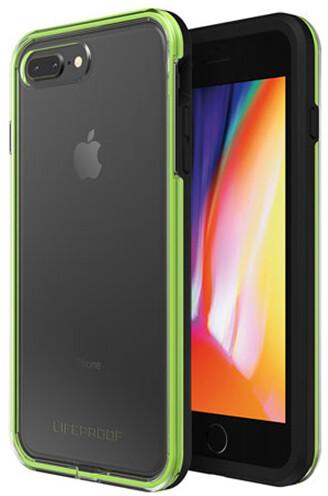LifeProof SLAM ochranné pouzdro pro iPhone 7+/8+ průhledné - černo zelené
