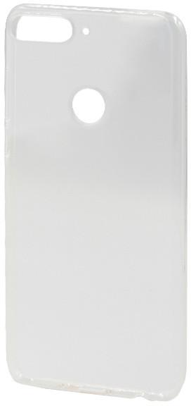 EPICO pružný plastový kryt pro Huawei Y7 Prime (2018) RONNY GLOSS, bílý transparentní