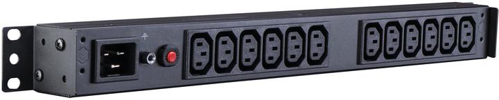 CyberPower Rack PDU, Basic, 1U, 16A, (12)C13, IEC C20