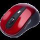 CONNECT IT bezdrátová optická myš V1, červená