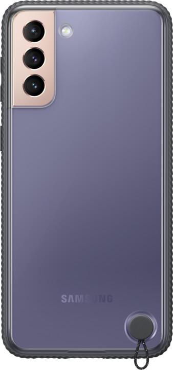 Samsung ochranný kryt Clear Protective pro Samsung Galaxy S21+, černá transparentní