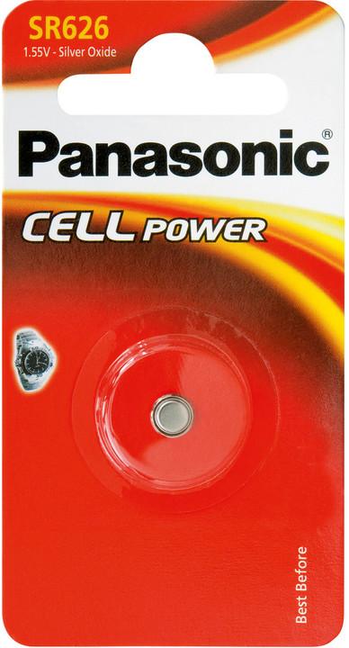 Panasonic baterie 377/376/SR626 1BP Ag