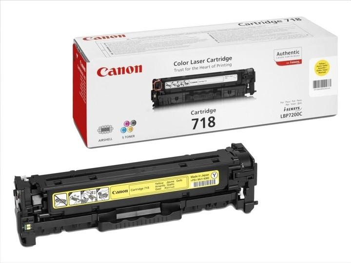 Canon CRG-718, žlutý
