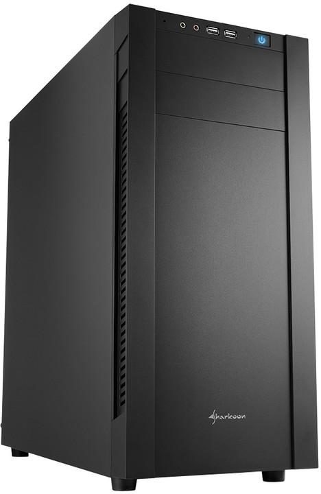 Sharkoon S25-S, černá