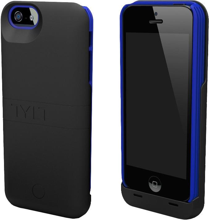TYLT ENERGI Sliding Power Case pro iPhone 5 Černá/Modrá