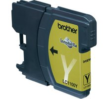 Brother LC-1100Y, yellow - LC1100Y