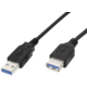 PremiumCord USB 3.0 Super-speed 5Gbps, A-A, MF, 9pin, 2m, prodlužovací