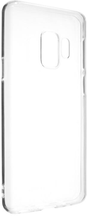 FIXED Skin ultratenké TPU gelové pouzdro pro Samsung Galaxy S9, 0,6 mm, čiré
