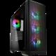 BITFENIX Nova Mesh TG A-RGB, Tempered Glass, černá O2 TV Sport Pack na 3 měsíce (max. 1x na objednávku)