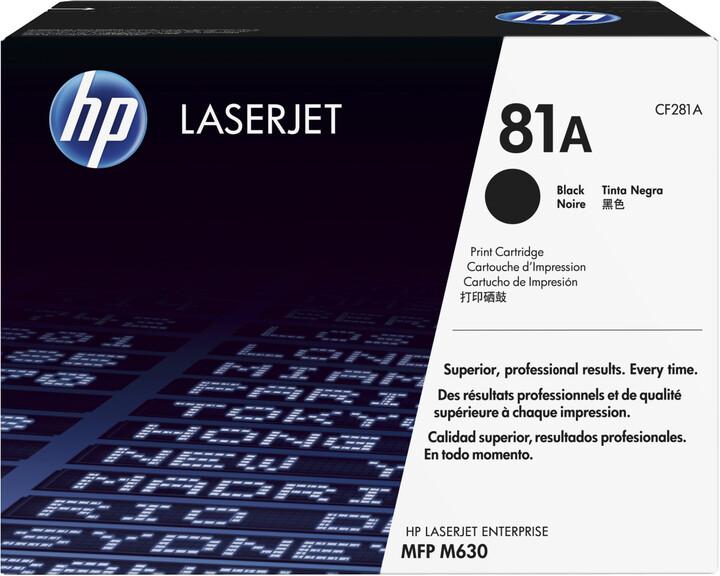 HP CF281A, černá
