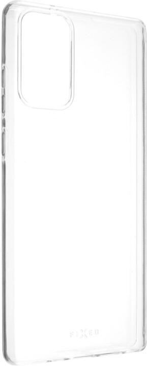 FIXED gelové pouzdro TPU pro Samsung Galaxy Note 20, čirá