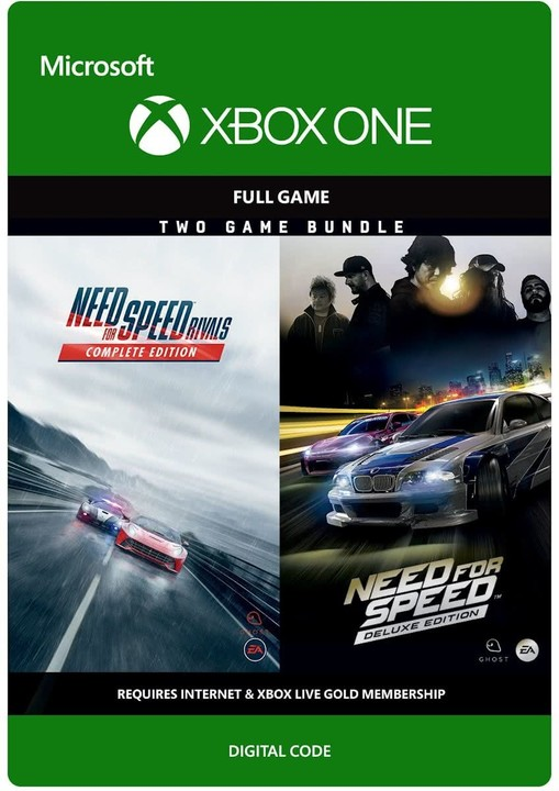 Need for Speed Deluxe Bundle (Xbox ONE) - elektronicky