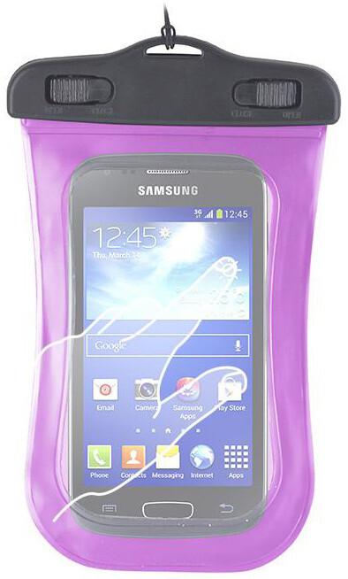 """Forever voděodolné pouzdro pro telefony L 4.5"""" - 5.0"""" - růžové"""
