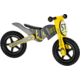 Odrážedlo Small Foot - Motocross, dřevěné, černá/žlutá