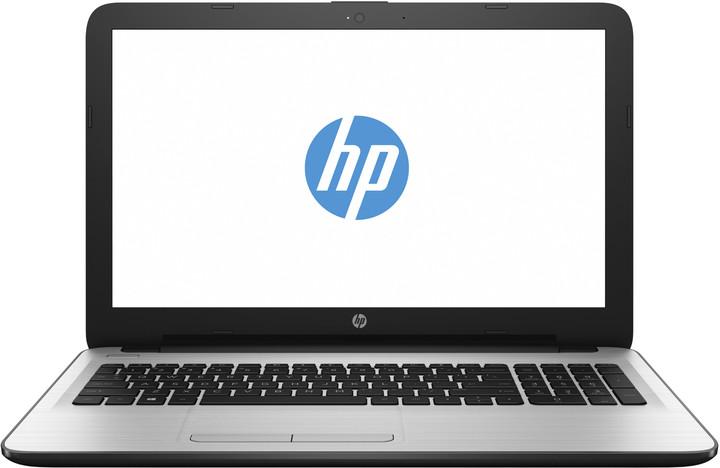 HP 15 (15-ba067nc), bílo-stříbrná