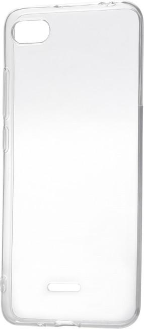 Epico Pružný plastový kryt pro Xiaomi Redmi 6A RONNY GLOSS, bílý transparentní