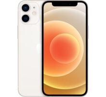 Apple iPhone 12 mini, 256GB, White - MGEA3CN/A + CZC 5000mAh WIRELESS POWERBANK - červená v hodnotě 499 Kč