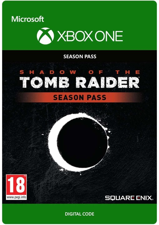 Shadow of the Tomb Raider - Season Pass (Xbox ONE) - elektronicky
