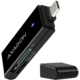 AXAGON CRE-S2C, USB 3.1 Type-C, externí SLIM čtečka 2-slot SD/microSD