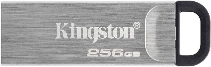Kingston DataTraveler Kyson, - 256GB, stříbrná