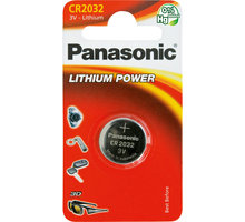 Panasonic baterie CR-2032 1BP Li - 35049310