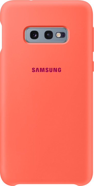 Samsung silikonový zadní kryt pro Samsung G970 Galaxy S10e, růžová (Berry Pink)