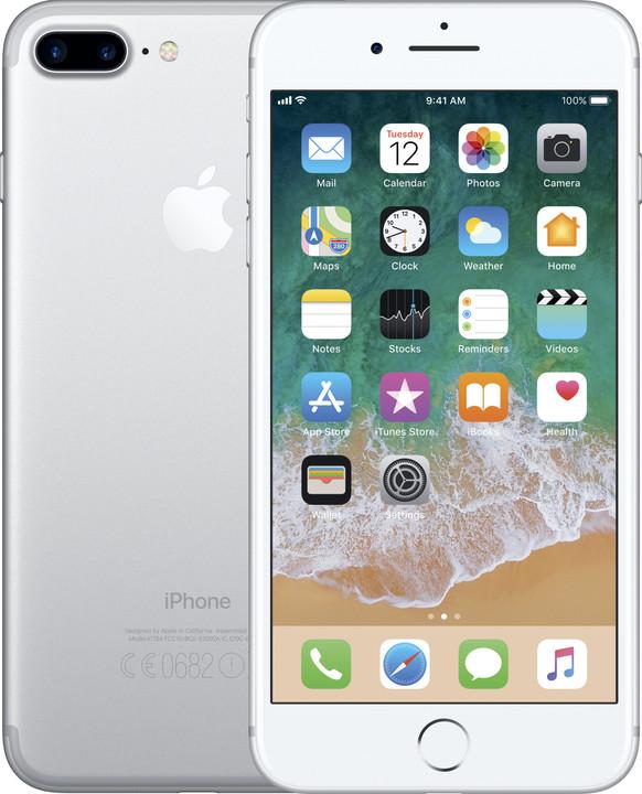 Apple iPhone 7 Plus, 32GB, stříbrná