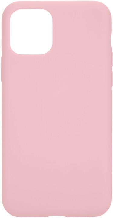 Tactical silikonový kryt Velvet Smoothie pro Apple iPhone 11 Pro, růžová