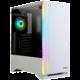 Zalman S5 White, průhledná bočnice