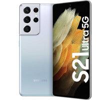 Samsung Galaxy S21 Ultra 5G, 12GB/128GB, Silver Sluchátka Samsung Galaxy Buds Live, bílá v hodnotě 5 499 Kč + Vyměňte starý za nový a získejte bonus 5 000 Kč